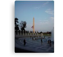 Washington Monument in Washington, DC Canvas Print