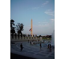 Washington Monument in Washington, DC Photographic Print