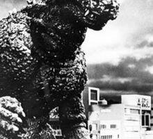 No Gods..Just Godzilla Sticker
