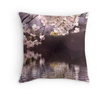 Spring full of blossoms Throw Pillow