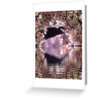 A tunnel of Spring Greeting Card