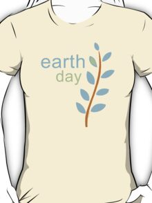 Earth Day With Leaves T-Shirt