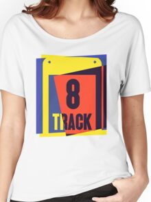 Pop Art 8 Track Tape Women's Relaxed Fit T-Shirt