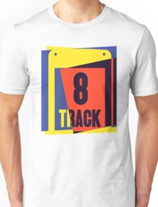 Pop Art 8 Track Tape Unisex T-Shirt