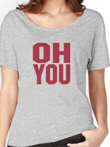 Oklahoma Sooner Shirt Women's Relaxed Fit T-Shirt