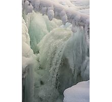 Flowing Ice Photographic Print