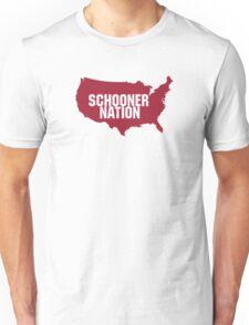Oklahoma Schooner Nation - Boomer Sooner Unisex T-Shirt