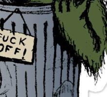 Grouchy Sticker