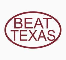 Oklahoma Beat Texas  Kids Tee
