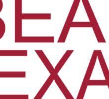 Oklahoma Beat Texas  Sticker