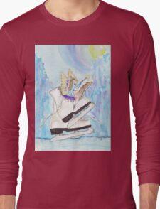 Glacier Skating Fairy Long Sleeve T-Shirt