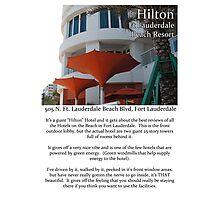 "Fort La Tee Dah ""The Hilton"" Photographic Print"