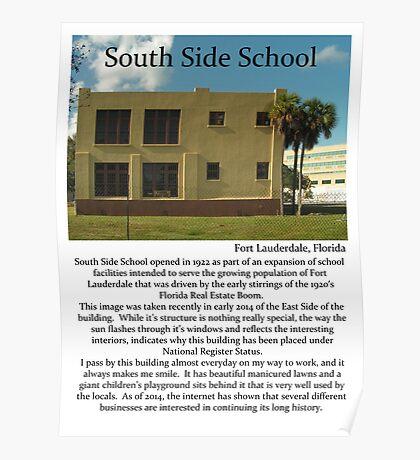 """Fort La Tee Dah """"South Side School"""" Poster"""