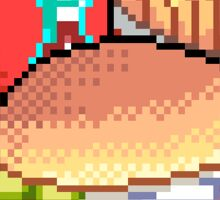 Junk Food (Pixel) Sticker