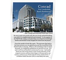 "Fort La Tee Dah ""The Conrad"" Poster"