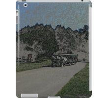 Carraige-Colored Pencil iPad Case/Skin
