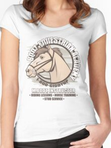 Bodt Equestrian Academy Women's Fitted Scoop T-Shirt
