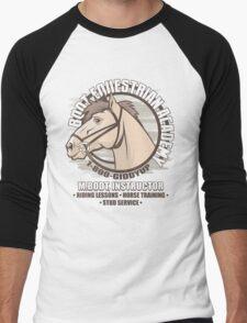 Bodt Equestrian Academy Men's Baseball ¾ T-Shirt