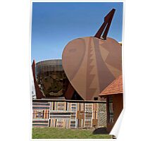 African Architecture Poster