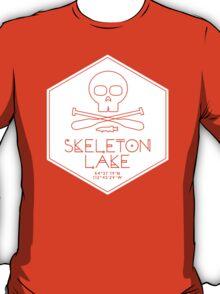 Skeleton Lake (white print) T-Shirt