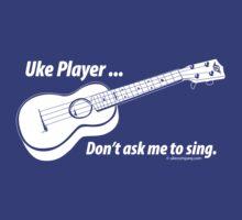Ukulele No Singing Dark by ukecompany