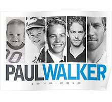 Paul Walker young Poster