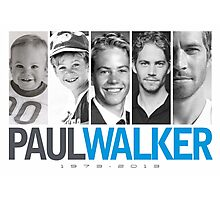 Paul Walker young Photographic Print