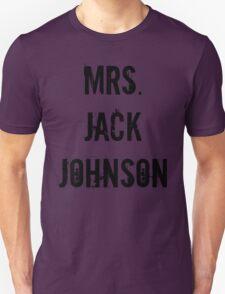 Mrs. Jack Johnson T-Shirt