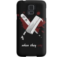 When They Cry Samsung Galaxy Case/Skin