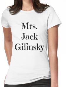 Mrs. Jack Gilinsky Womens Fitted T-Shirt