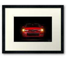 Mazda Speed 3 Framed Print