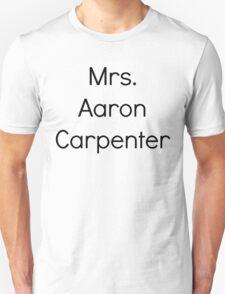 Mrs. Aaron Carpenter T-Shirt