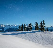 Snow Dunes by Nordic-Photo
