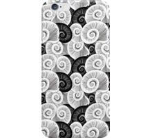 graphic pattern of shells  iPhone Case/Skin