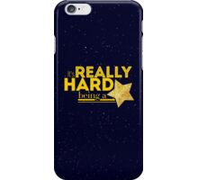 gold stars are a metaphor iPhone Case/Skin