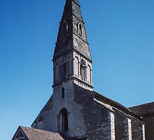 Church of St Nicholas Beaune France 198404290013 by Fred Mitchell