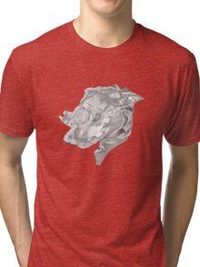 Steampunk Dog Tri-blend T-Shirt