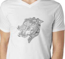 Steampunk Dog Mens V-Neck T-Shirt