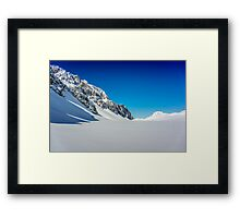 A Winter World Framed Print
