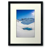 Wedgemount Glacier Framed Print