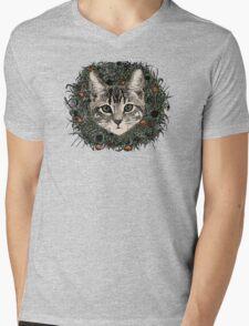 meadow god lion cat Mens V-Neck T-Shirt