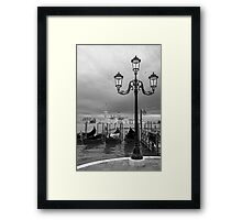 artistic view of Venice,Italy Framed Print