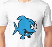bad mood fish Unisex T-Shirt