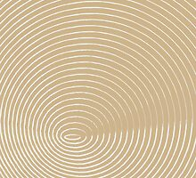 beige and white spiral background by elgreko