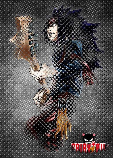 Rocking Metal Dragon by epyongart
