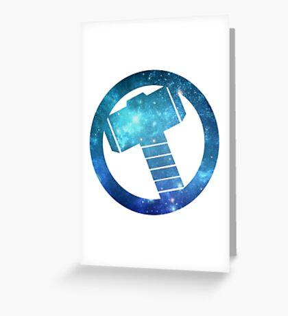 mjolnir Greeting Card