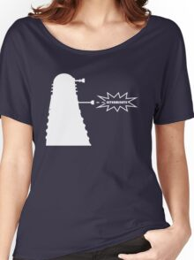 Exterminate (white) Women's Relaxed Fit T-Shirt