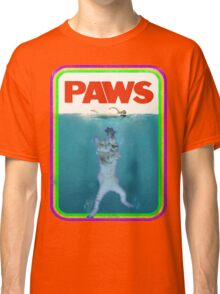 Jaws (PAWS) Movie parody T Shirt Classic T-Shirt