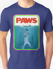 Jaws (PAWS) Movie parody T Shirt Unisex T-Shirt
