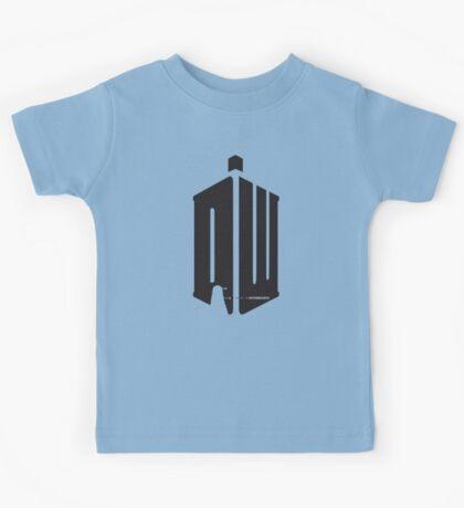 Dalek (exterminate) Kids Tee